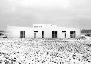 Barrierefreies Wohnhaus_Südseite